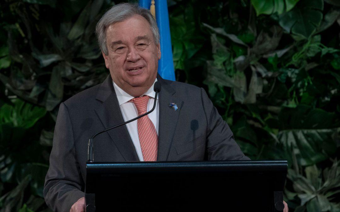 Discurso del SG de la ONU en apertura de la reunión de Alto Nivel sobre la Financiación para el Desarrollo