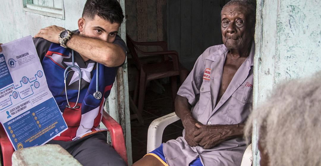 Los refugiados venezolanos se suman a la lucha contra el coronavirus