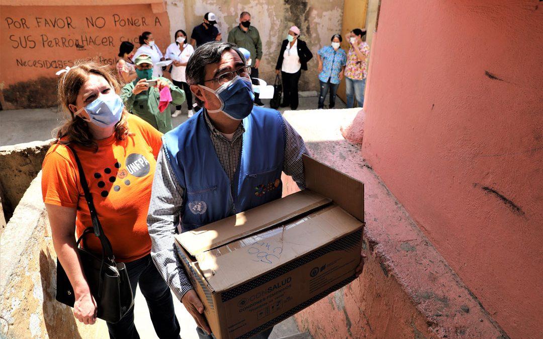 Tercer cargamento de ayuda humanitaria llega a Venezuela para continuar luchando contra el coronavirus y salvando vidas