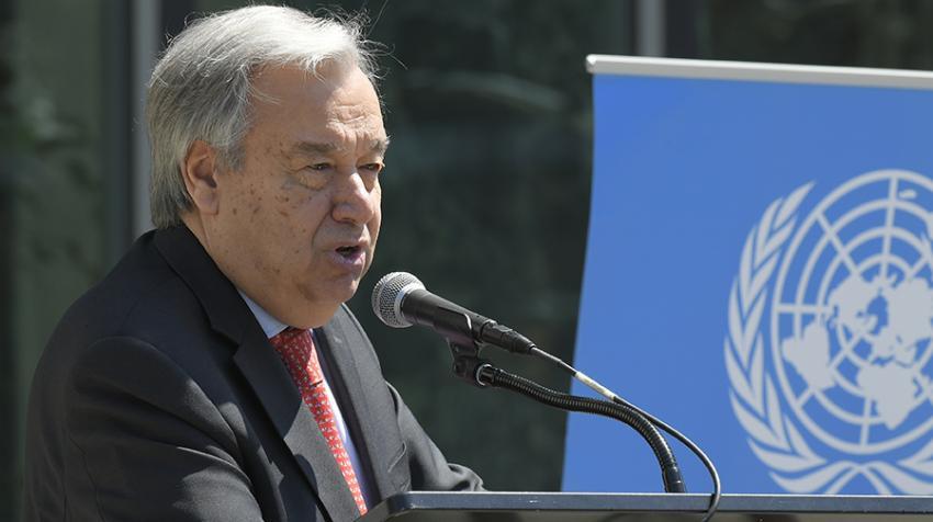 Mensaje en vídeo del Secretario General relativo al informe de políticas sobre el COVID-19 y el mundo laboral